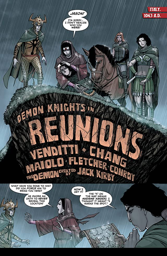 click for super-sized previews of Demon Knights (2011-2013) #18