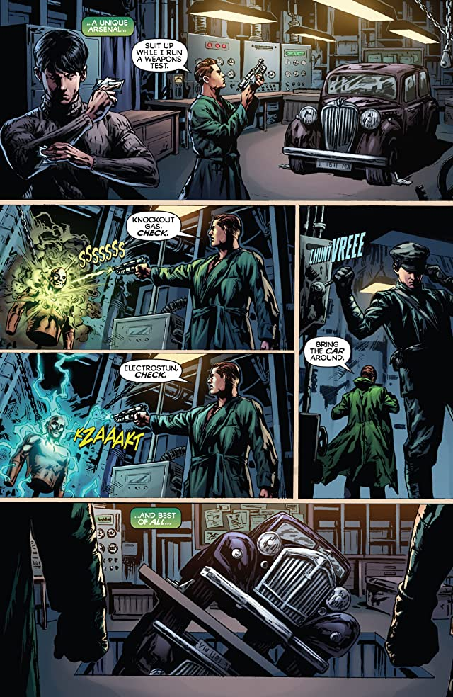 click for super-sized previews of The Green Hornet #1
