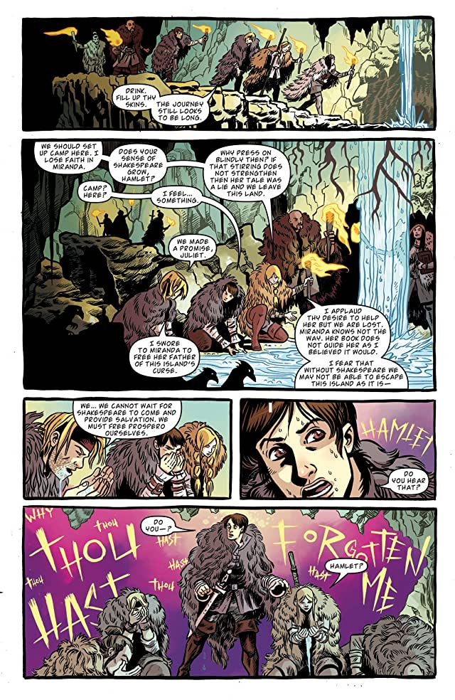 Kill Shakespeare: The Tide of Blood #2 (of 5)