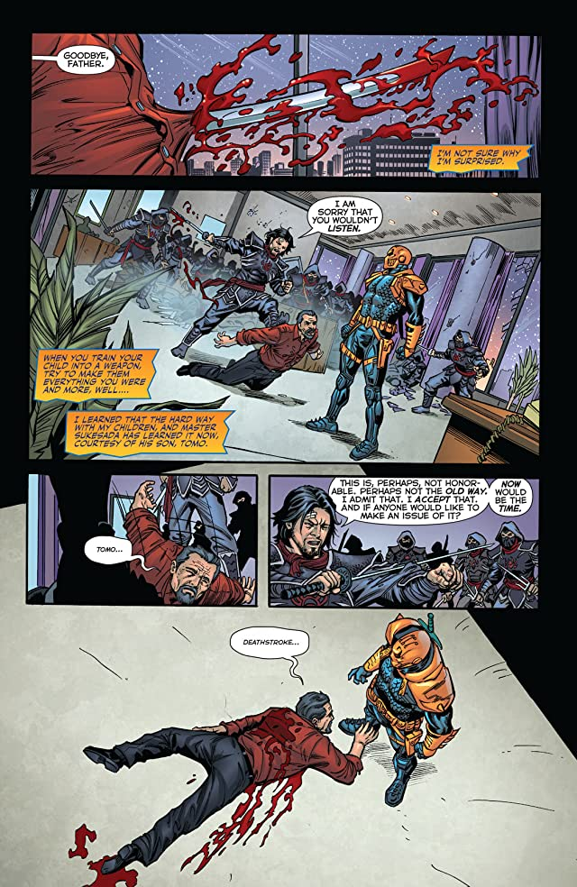 click for super-sized previews of Deathstroke (2011-2013) #18