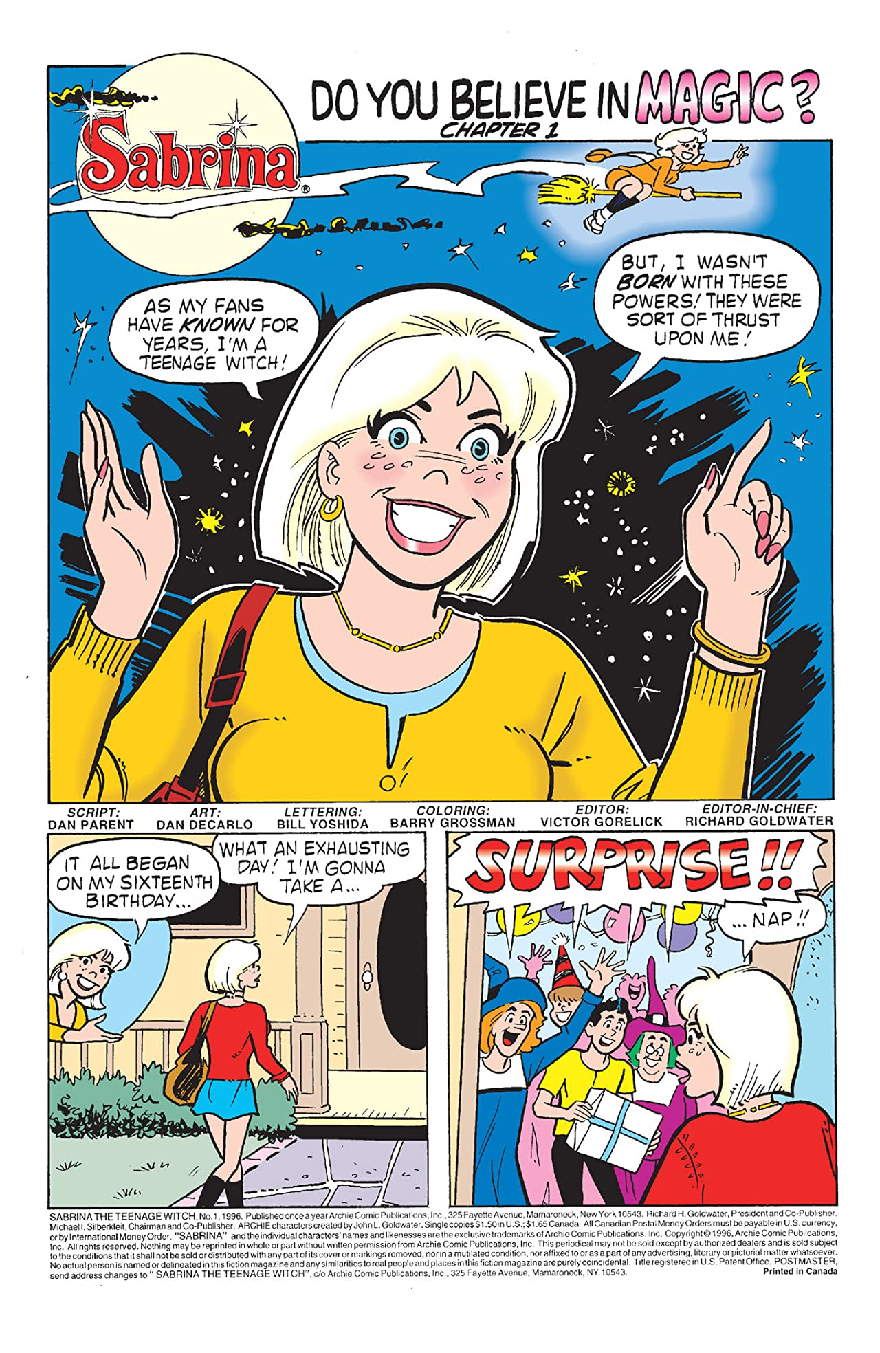 Sabrina the Teenage Witch #0: Collector's Edition