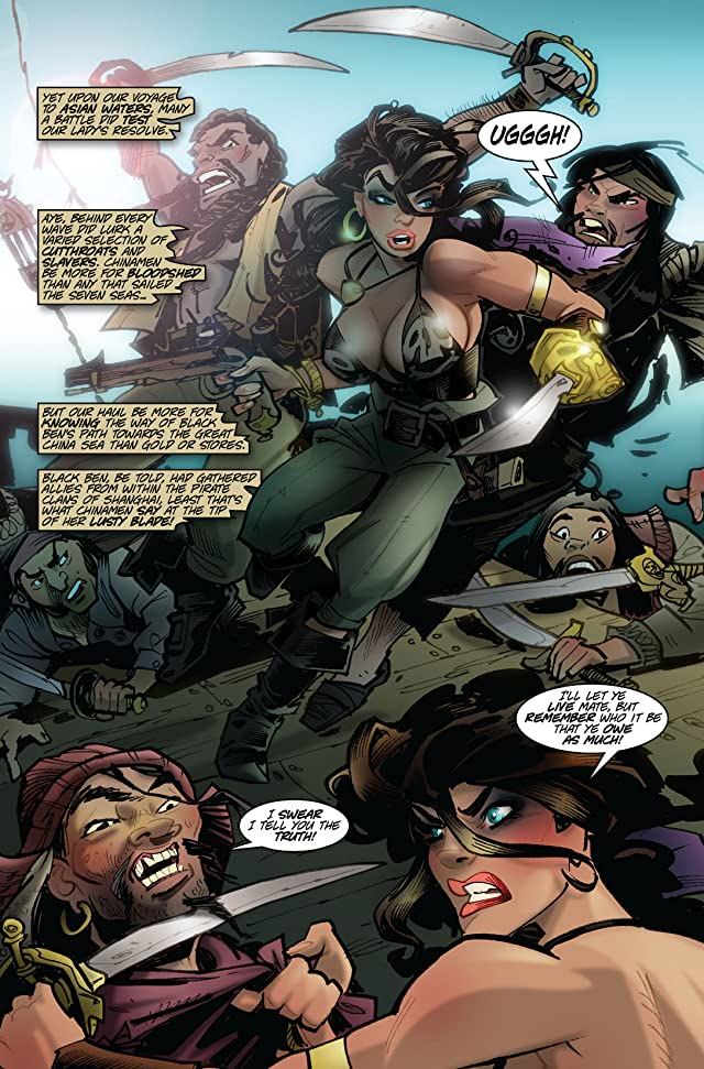 click for super-sized previews of The Voyages of She-Buccaneer #5