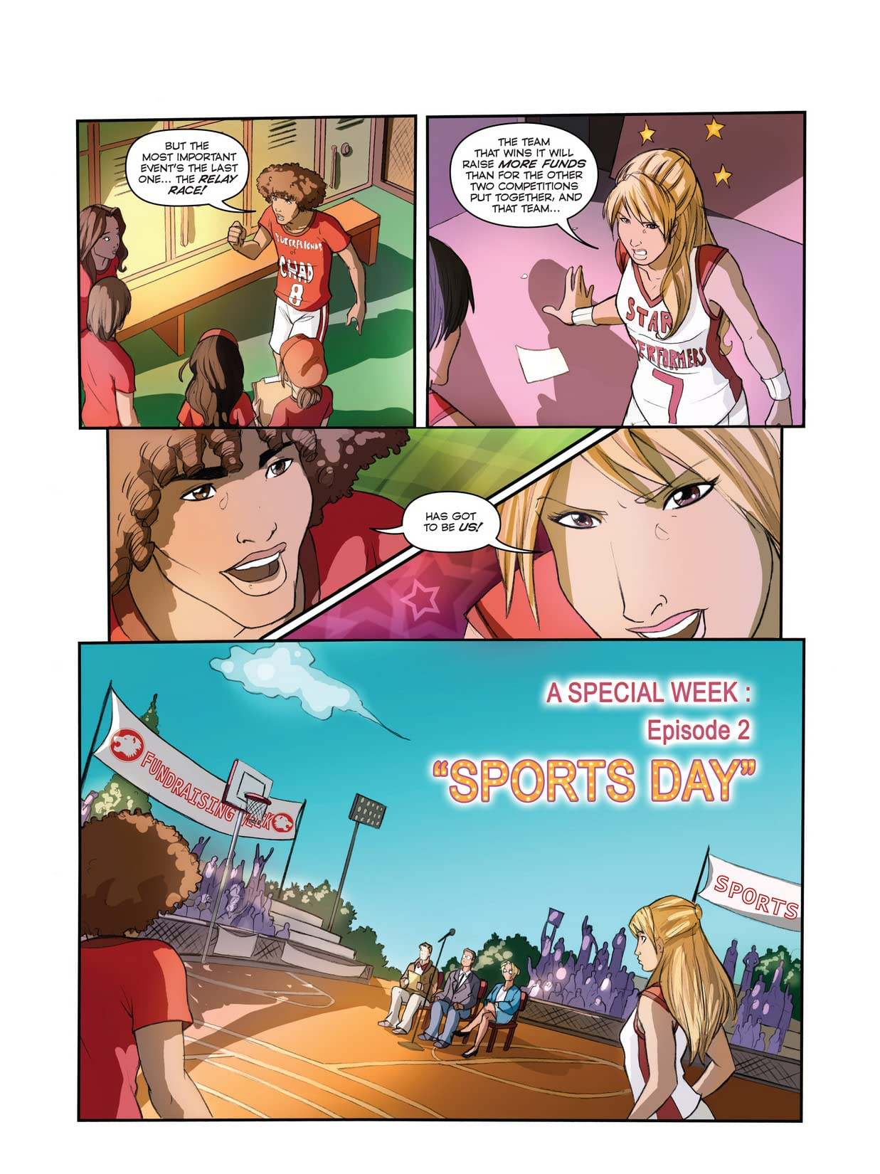 High School Musical: A Special Week #2: Sports Day