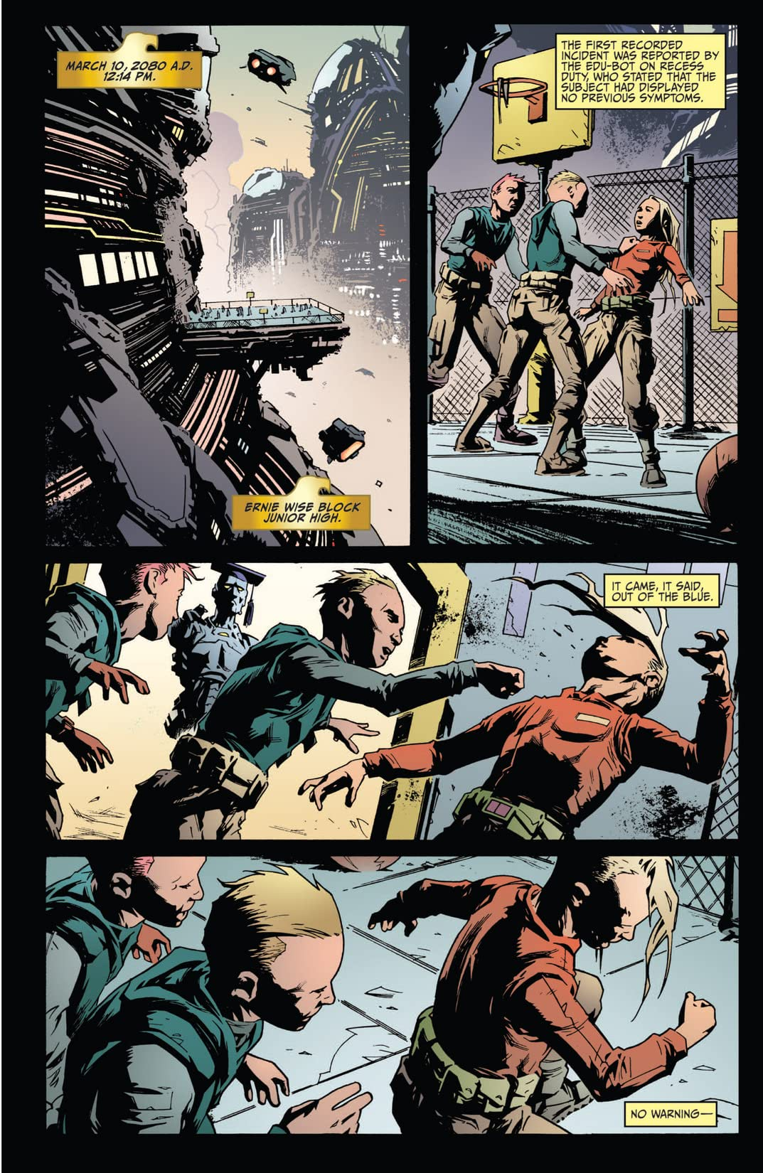 Judge Dredd: Year One #1