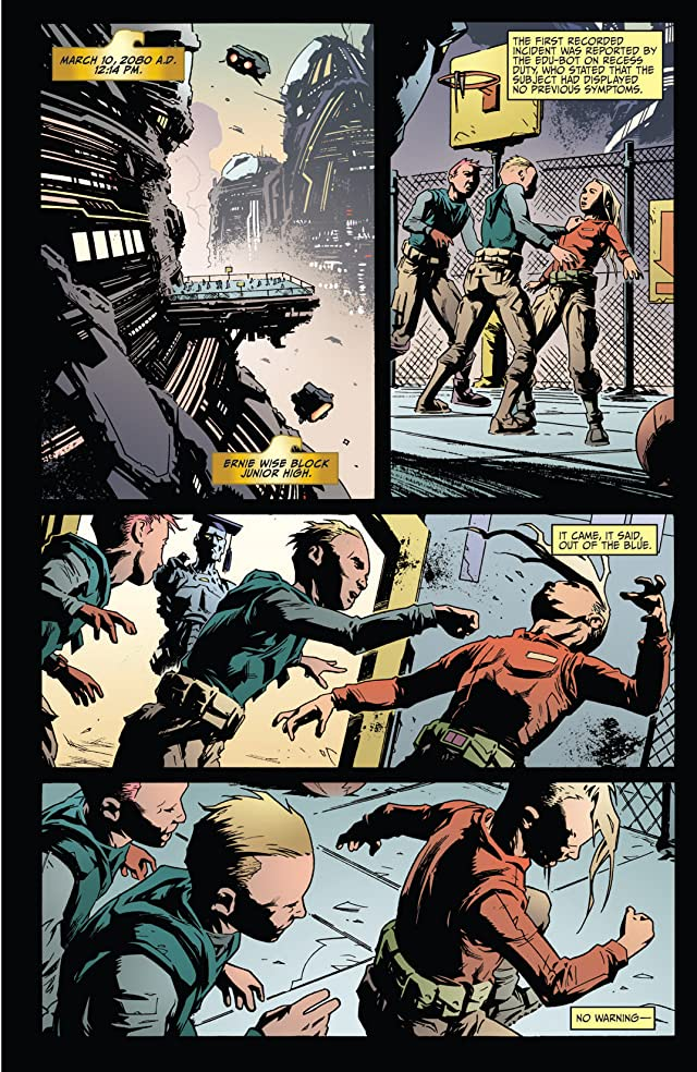 click for super-sized previews of Judge Dredd: Year One #1