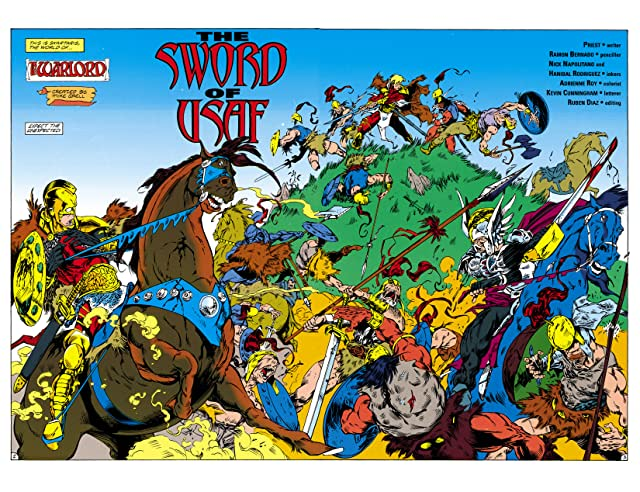 click for super-sized previews of Justice League Task Force (1993-1996) #35