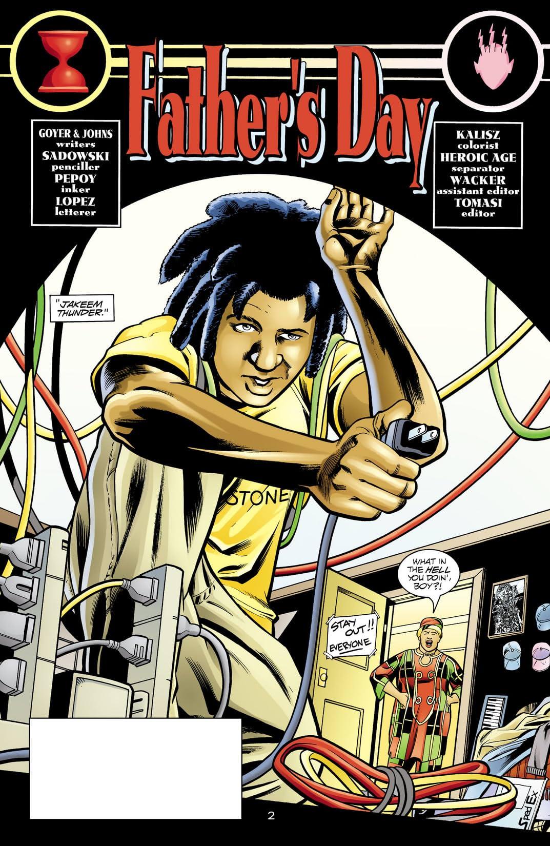 JSA (1999-2006) #38