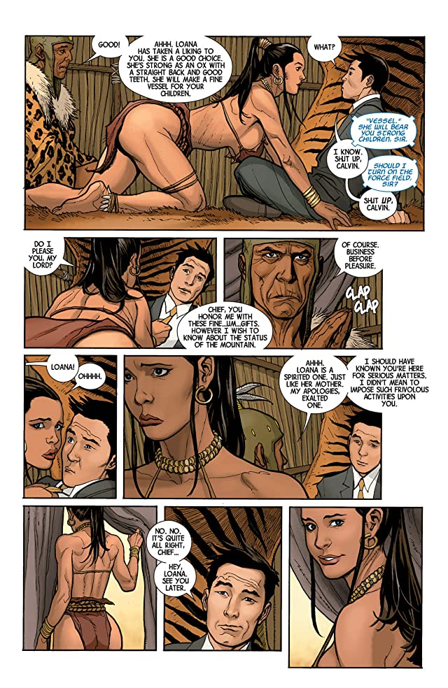 click for super-sized previews of Savage Wolverine #3