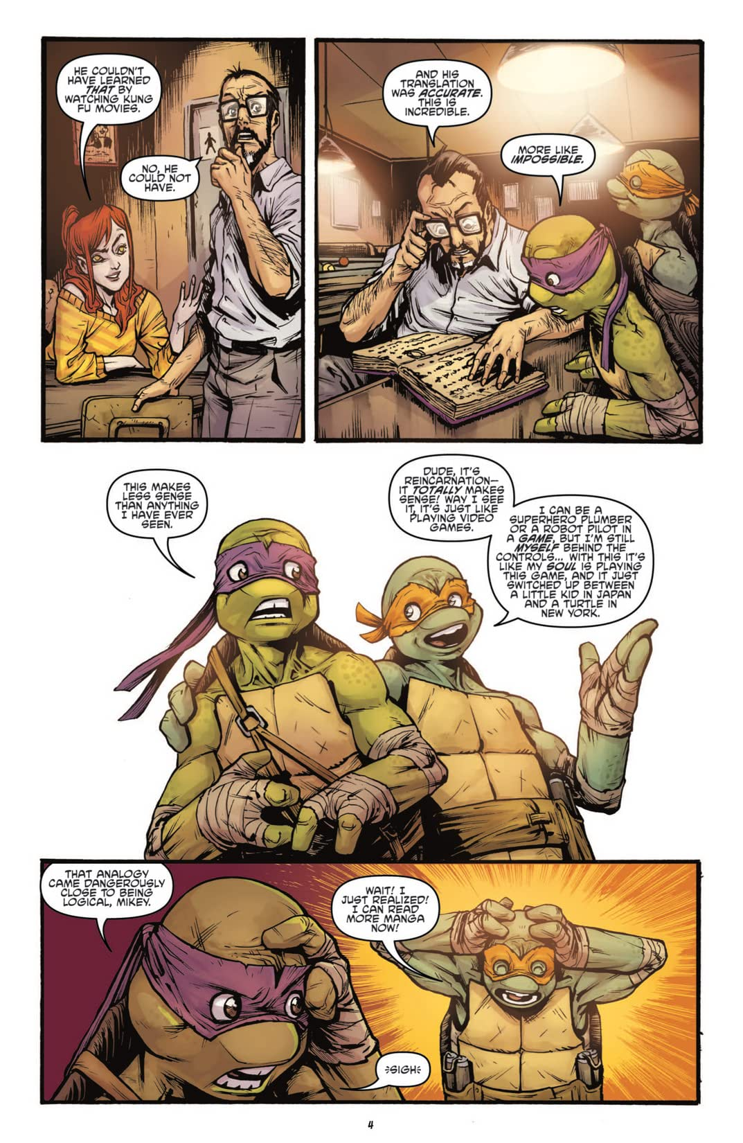 Teenage Mutant Ninja Turtles: Secret History of the Foot Clan #4 (of 4)