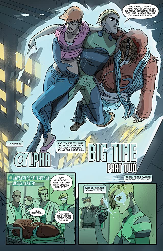 click for super-sized previews of Alpha: Big Time #2 (of 5)