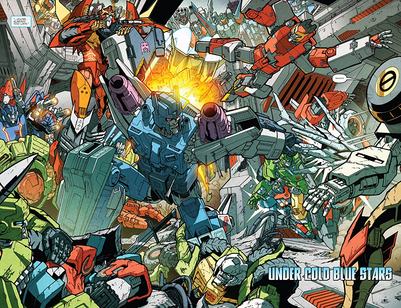 Transformers: More Than Meets the Eye (2011-) #15