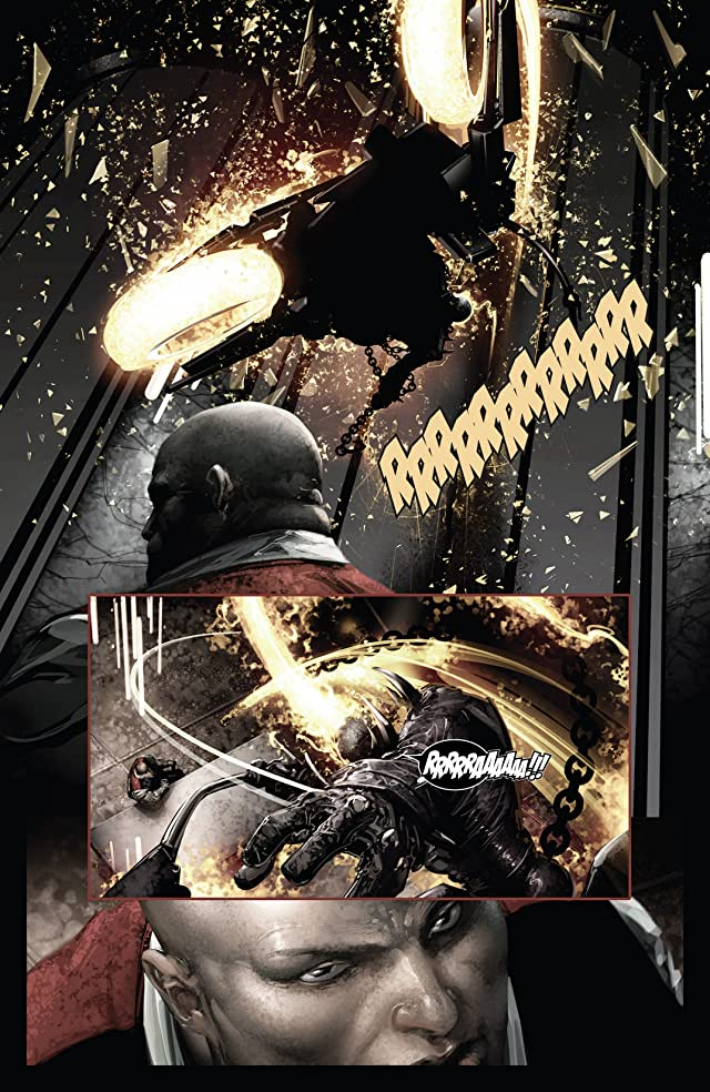 click for super-sized previews of Shadowland: Ghost Rider #1