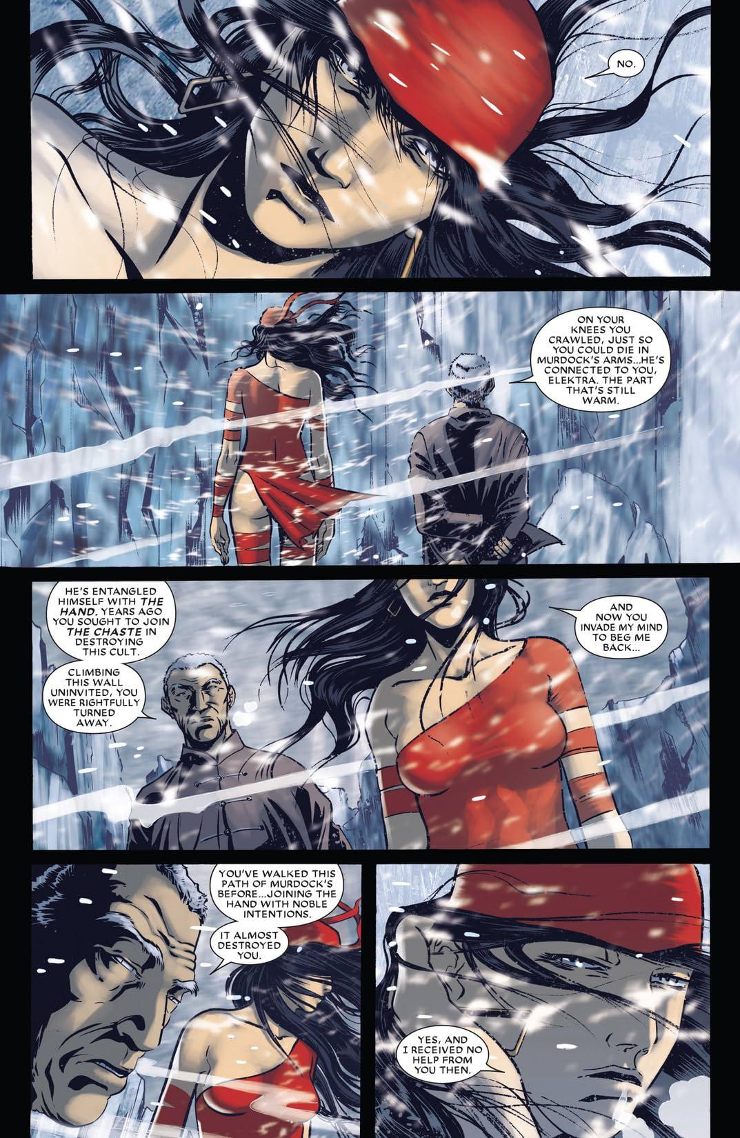 Shadowland: Elektra #1