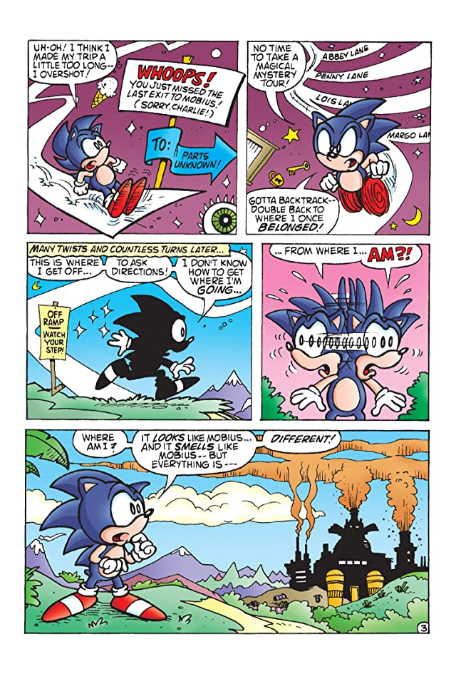 click for super-sized previews of Sonic the Hedgehog #11