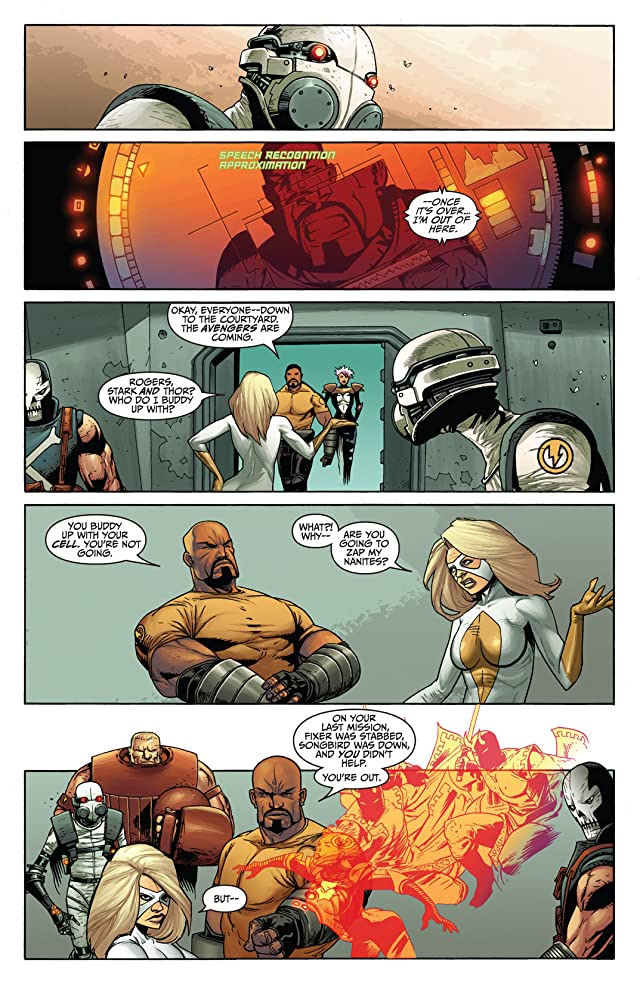click for super-sized previews of Thunderbolts (2006-2012) #150