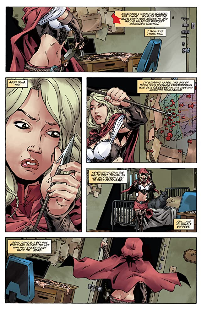 Grimm Fairy Tales Presents: Robyn Hood vs. Red Riding Hood