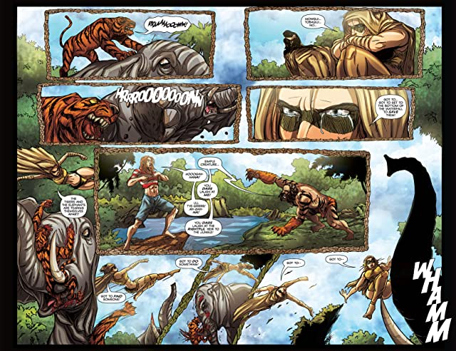 click for super-sized previews of The Jungle Book: Last of the Species #2