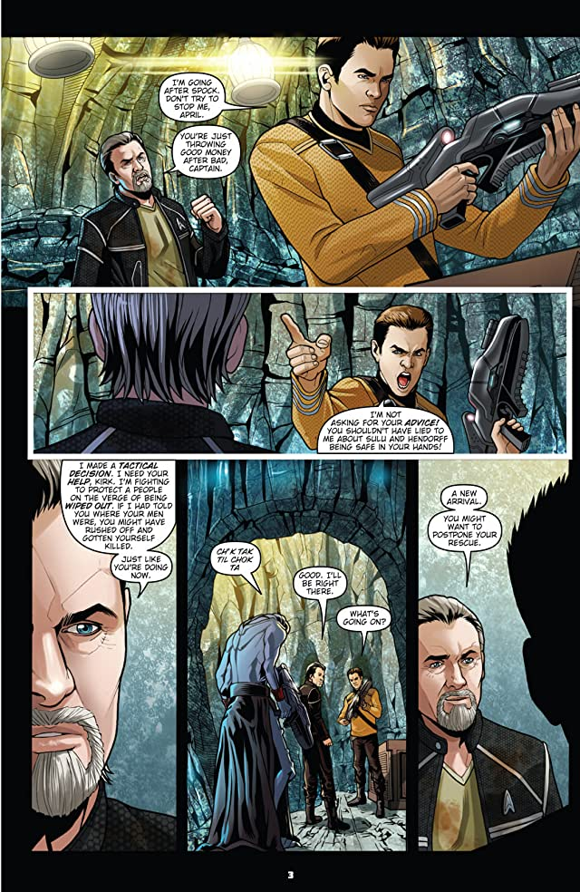 click for super-sized previews of Star Trek: Countdown To Darkness #3