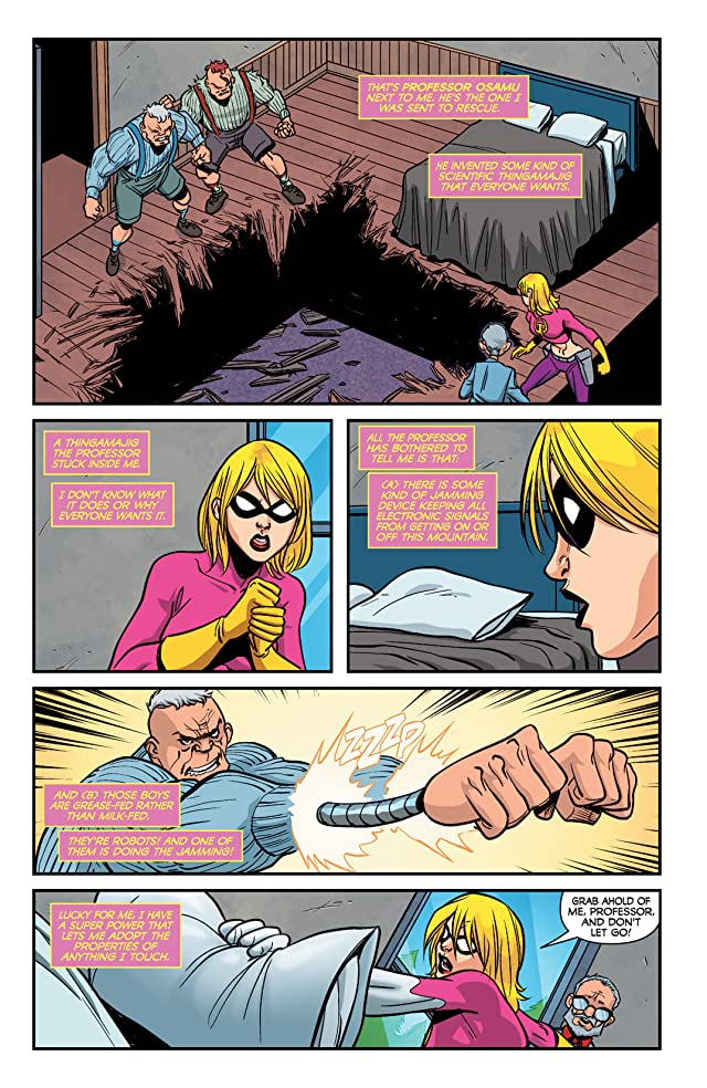 click for super-sized previews of It Girl & the Atomics #8