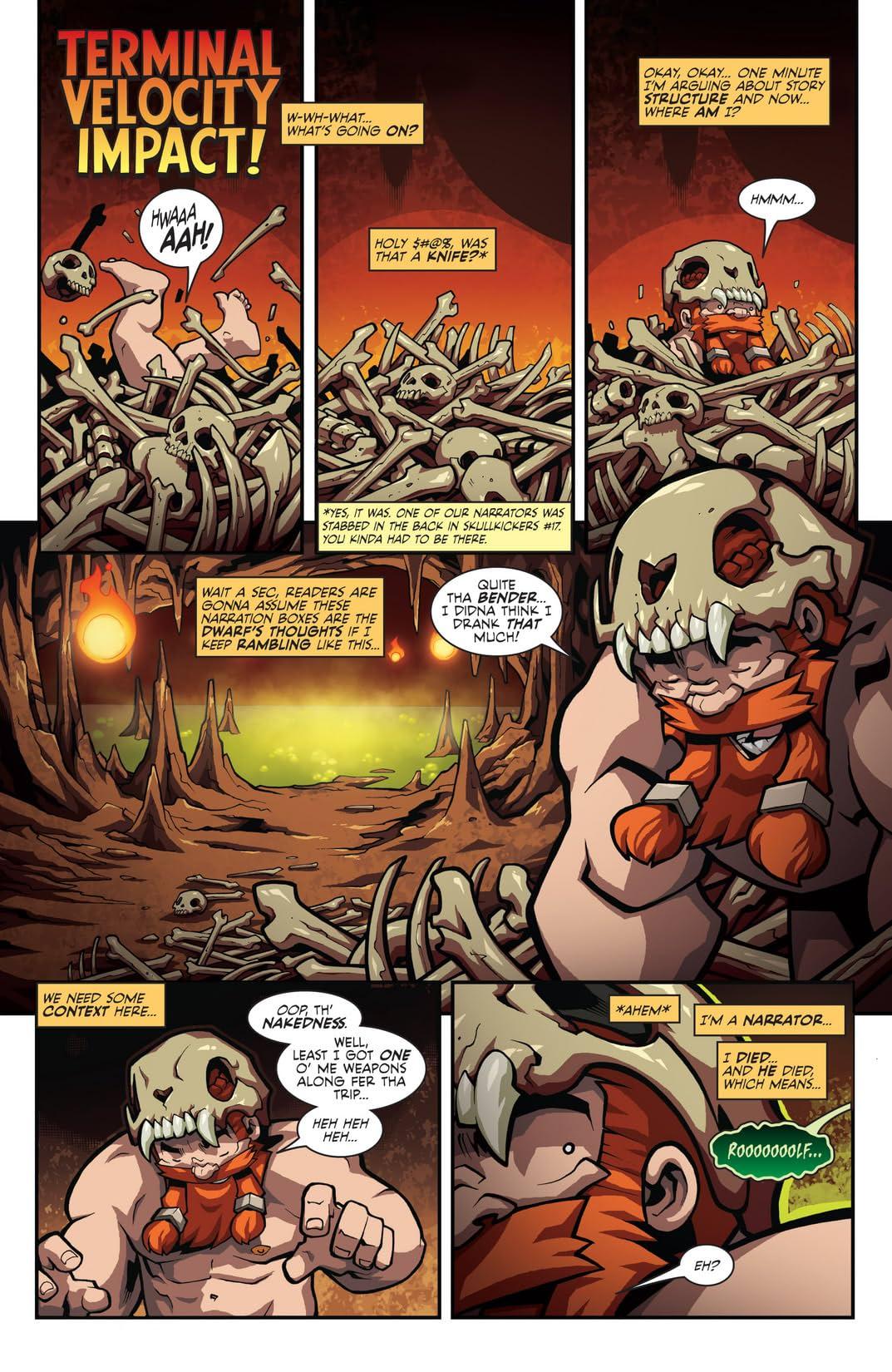 Skullkickers #20: (Savage Skullkickers #1)