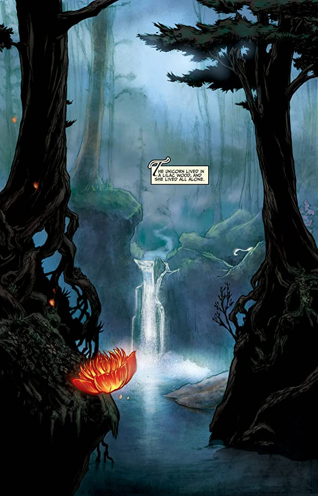click for super-sized previews of The Last Unicorn #1