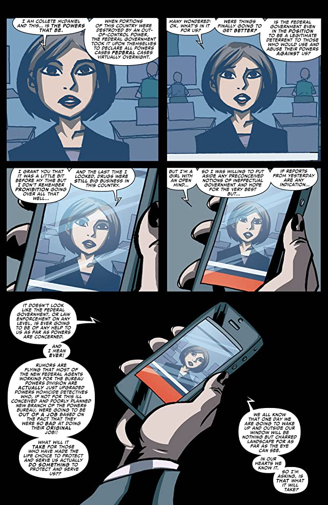 click for super-sized previews of Powers: Bureau #3