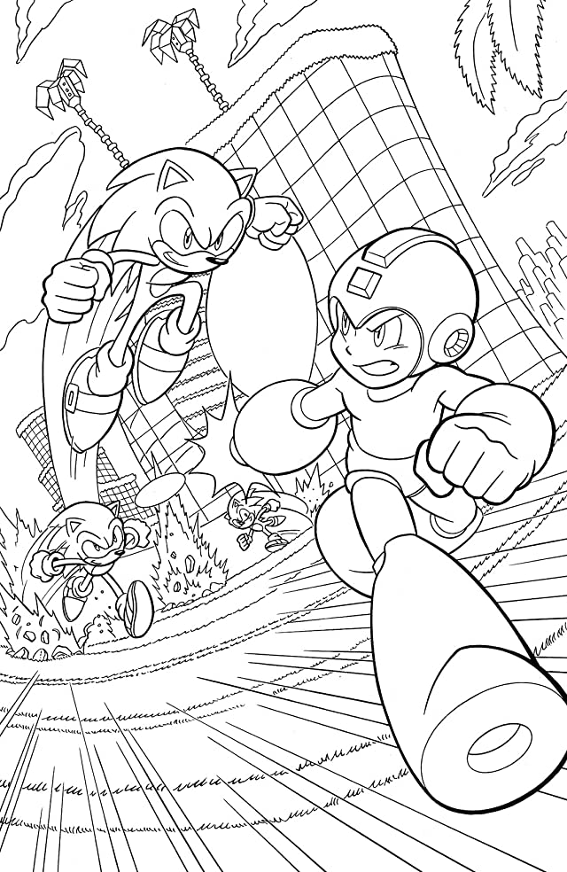 Mega Man #24: Worlds Collide Free Preview