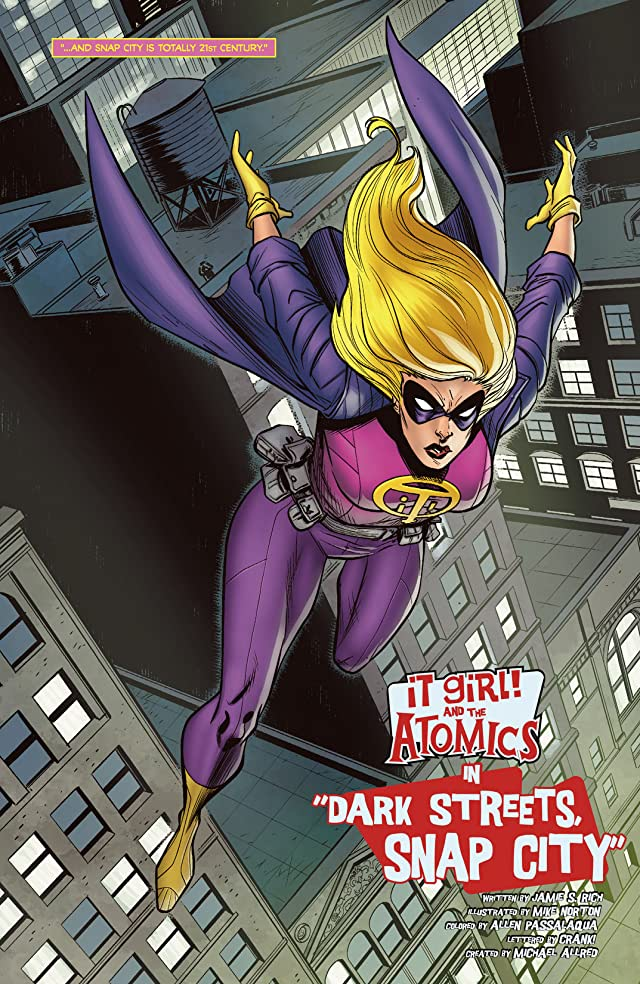 click for super-sized previews of It Girl & The Atomics Vol. 1: Round One: Dark Streets Snap City