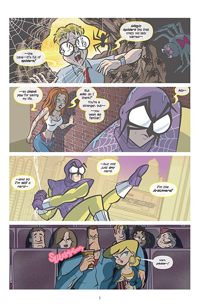 click for super-sized previews of Love and Capes #4