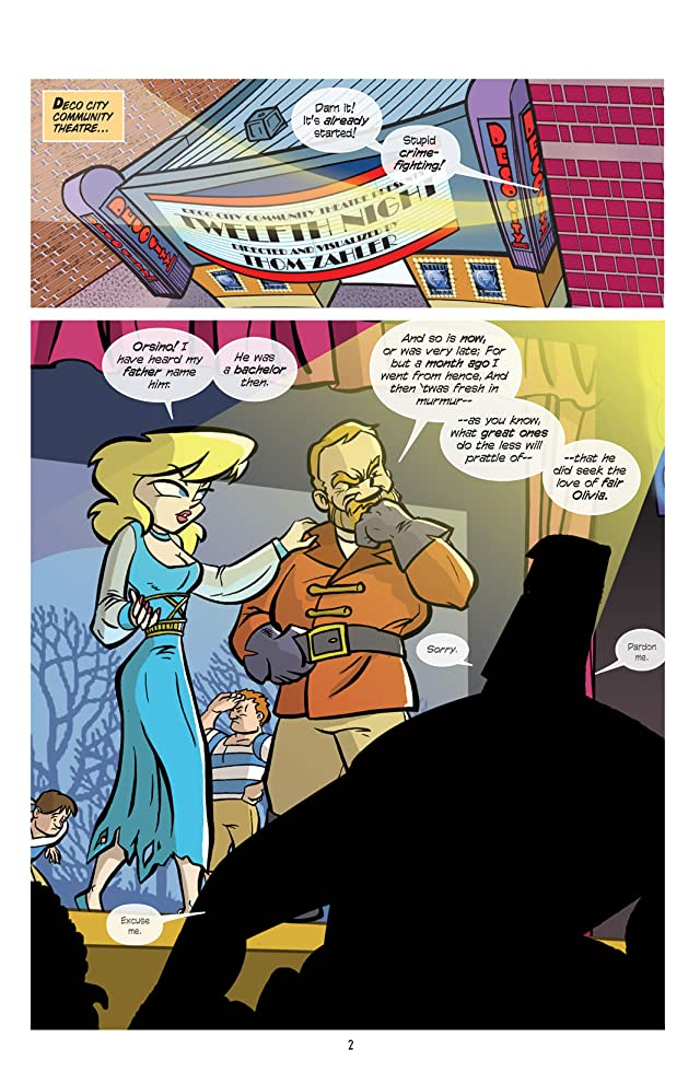 click for super-sized previews of Love and Capes #5