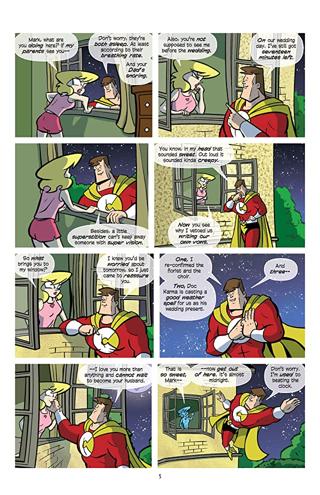 Love and Capes #12