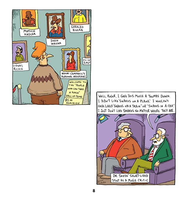 click for super-sized previews of The Argyle Sweater: A Cartoon Collection