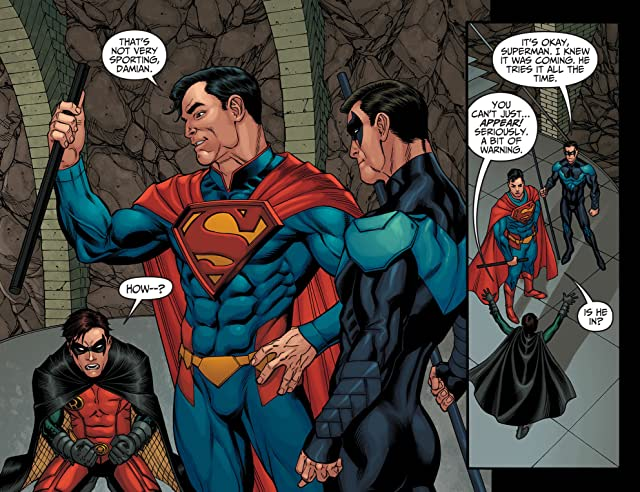 click for super-sized previews of Injustice: Gods Among Us (2013) #10