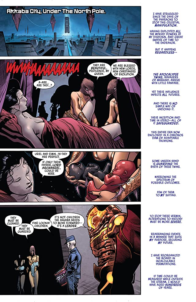 click for super-sized previews of Uncanny Avengers #5