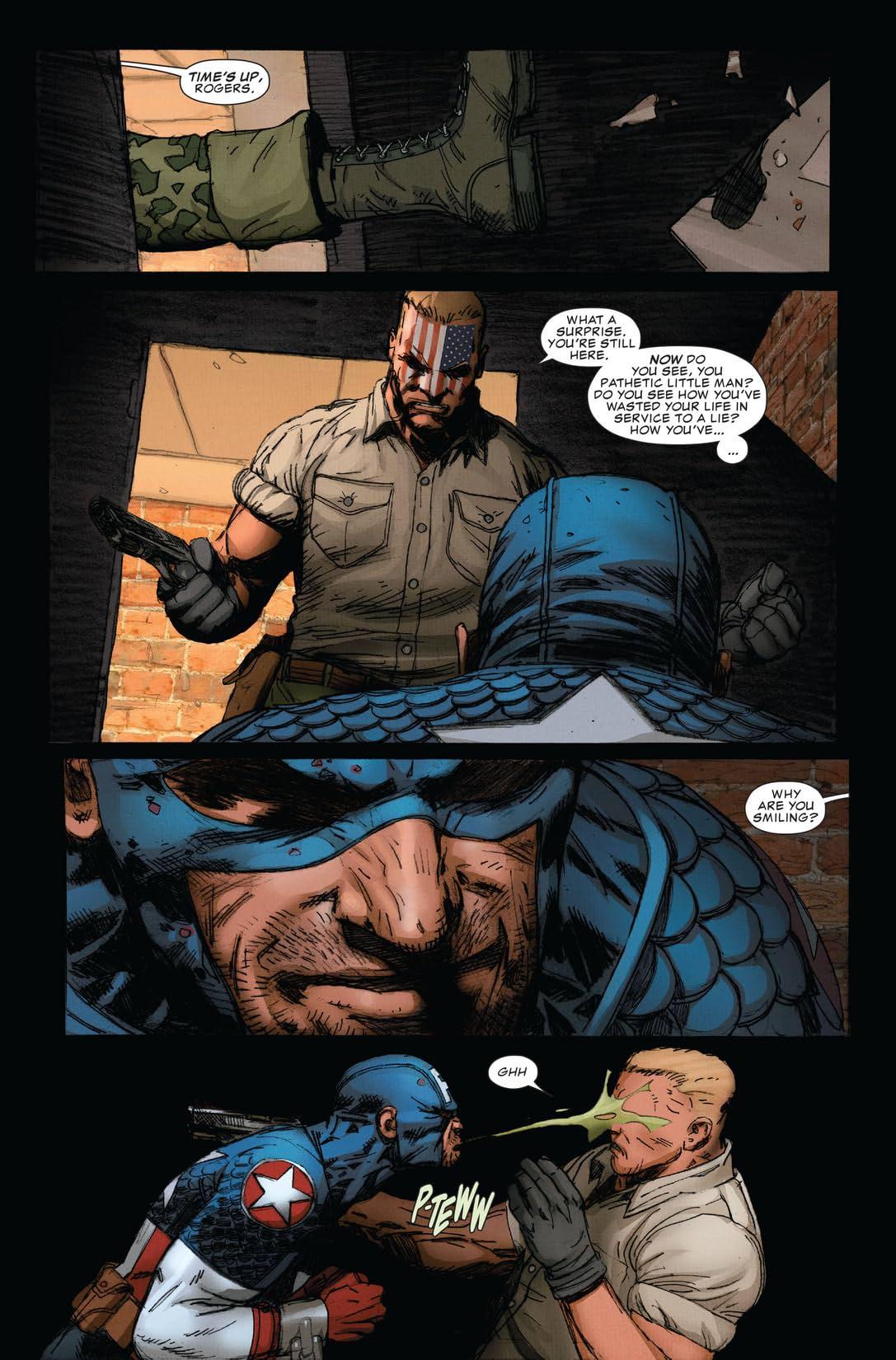 Ultimate Comics Captain America #4 (of 4)