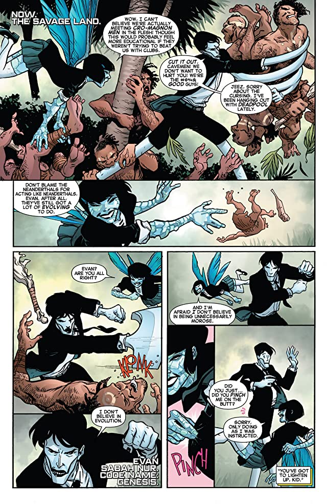 click for super-sized previews of Wolverine and the X-Men #27