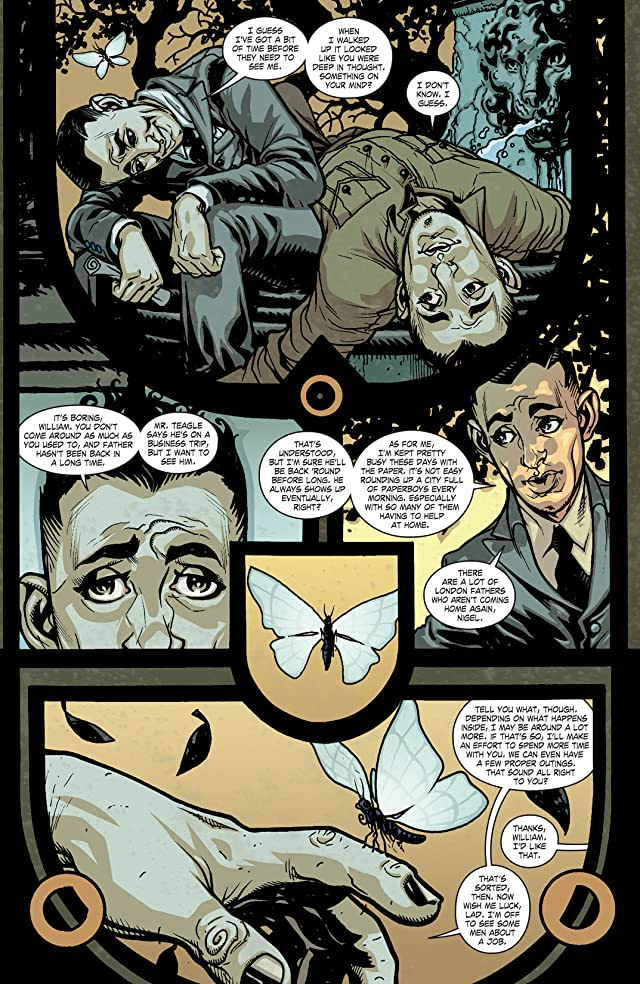 click for super-sized previews of JSA Liberty Files: The Whistling Skull (2012) #4