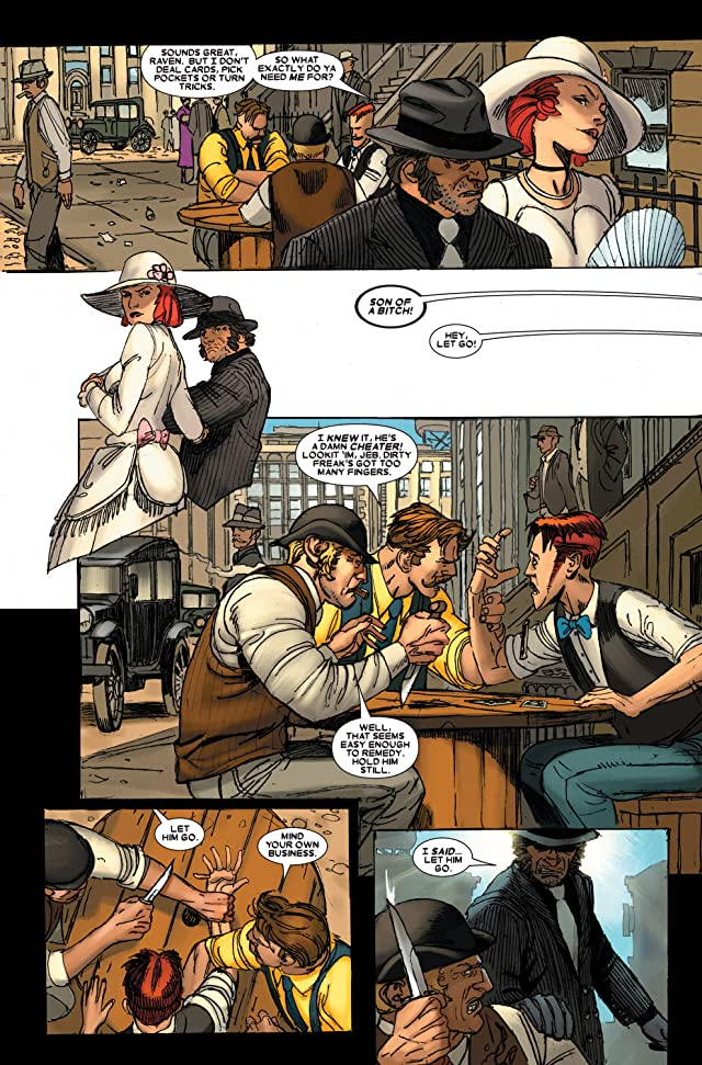 click for super-sized previews of Wolverine (2003-2009) #63