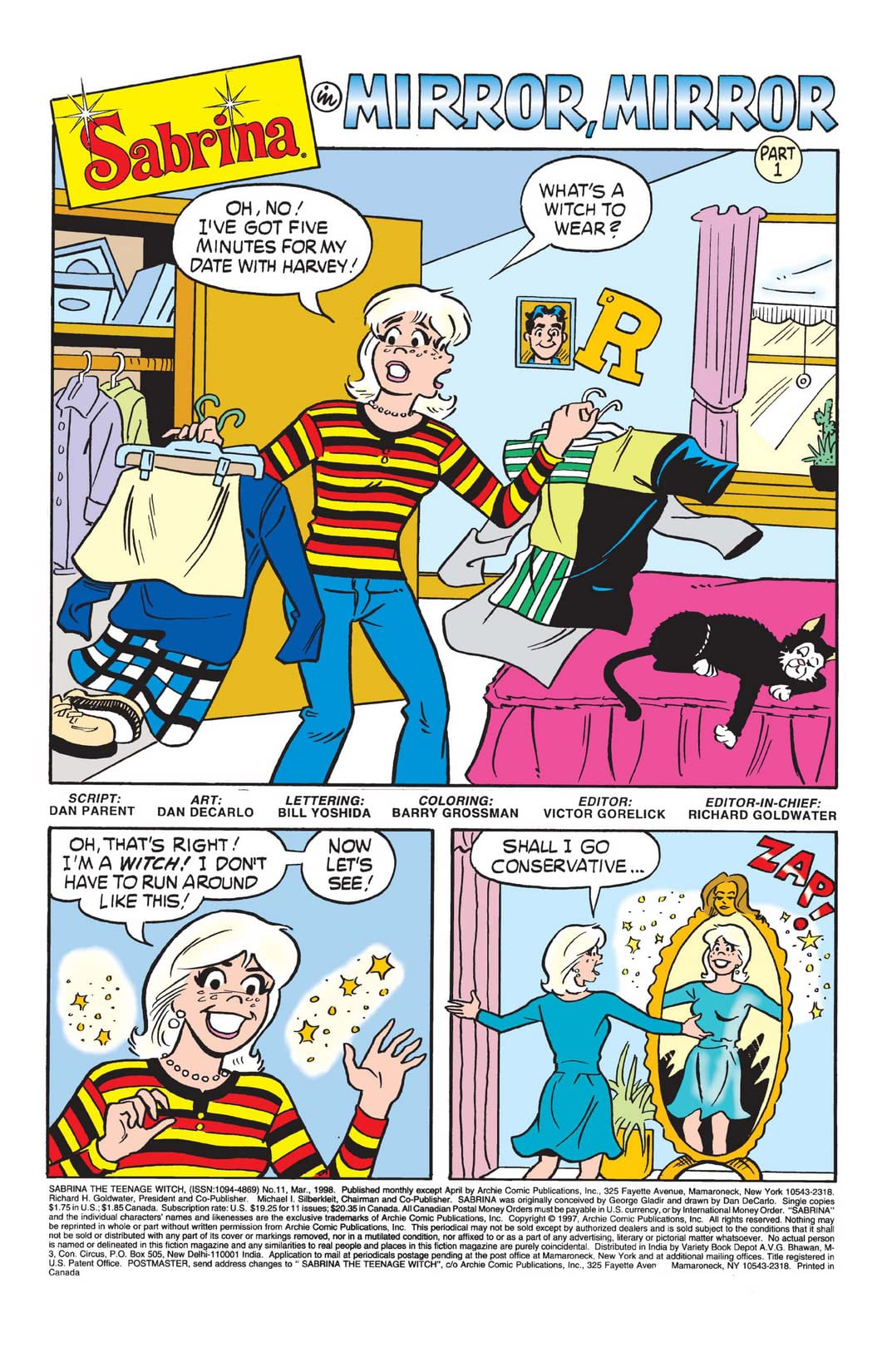 Sabrina the Teenage Witch #11