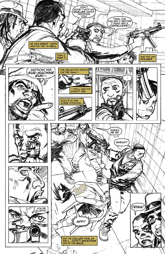 click for super-sized previews of Watson and Holmes - Noir Edition #2