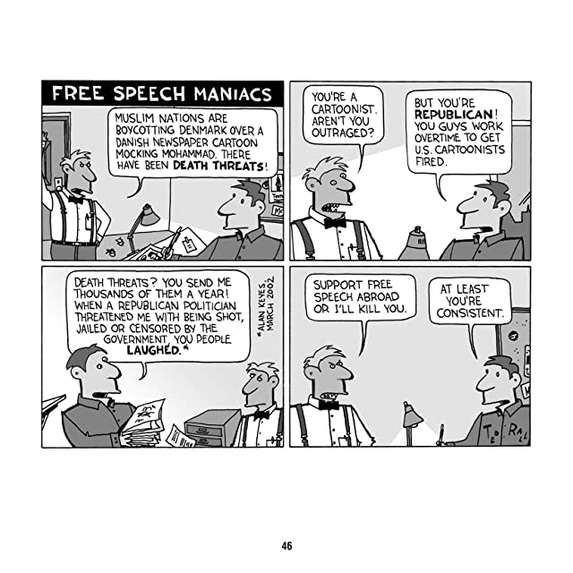 click for super-sized previews of America Gone Wild: Cartoons by Ted Rall