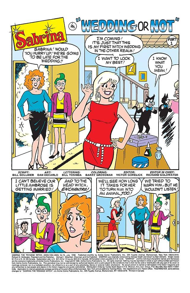 Sabrina the Teenage Witch #15