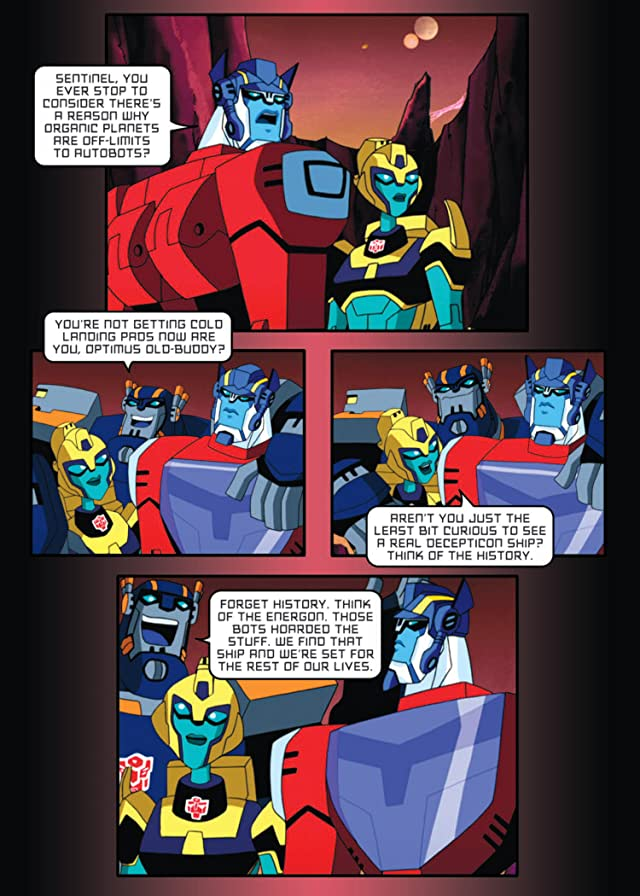 Transformers Animated Vol. 4
