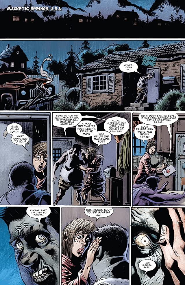 click for super-sized previews of The Zombie: Simon Garth #2