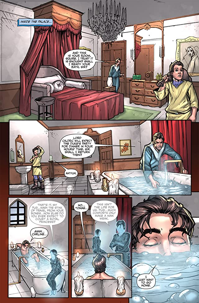 click for super-sized previews of Magician: Apprentice Riftwar Saga #12
