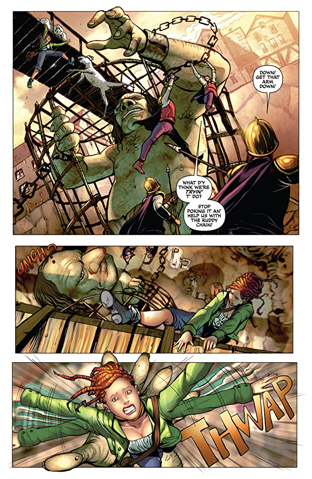 click for super-sized previews of Damsels #1
