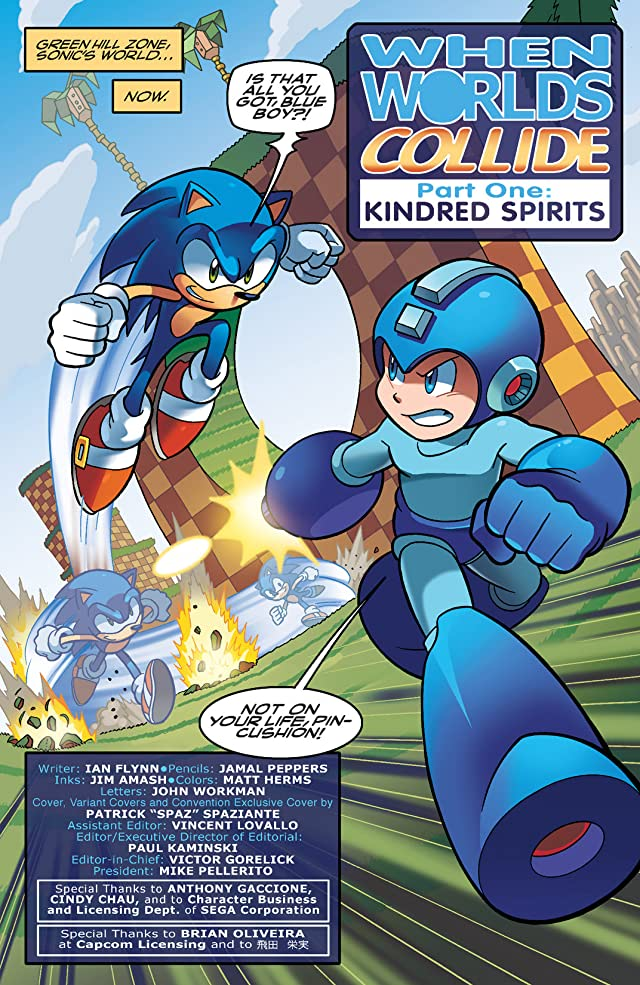 click for super-sized previews of Mega Man #24