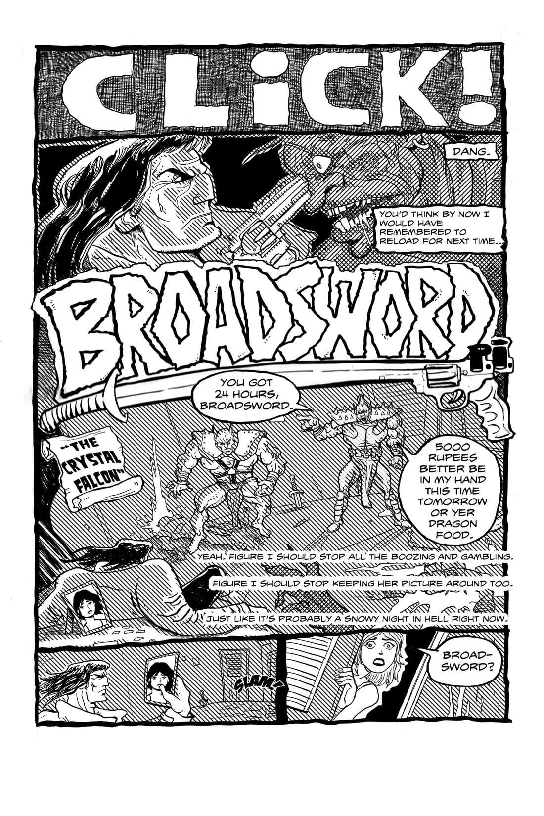 Broadsword, P.I. #1