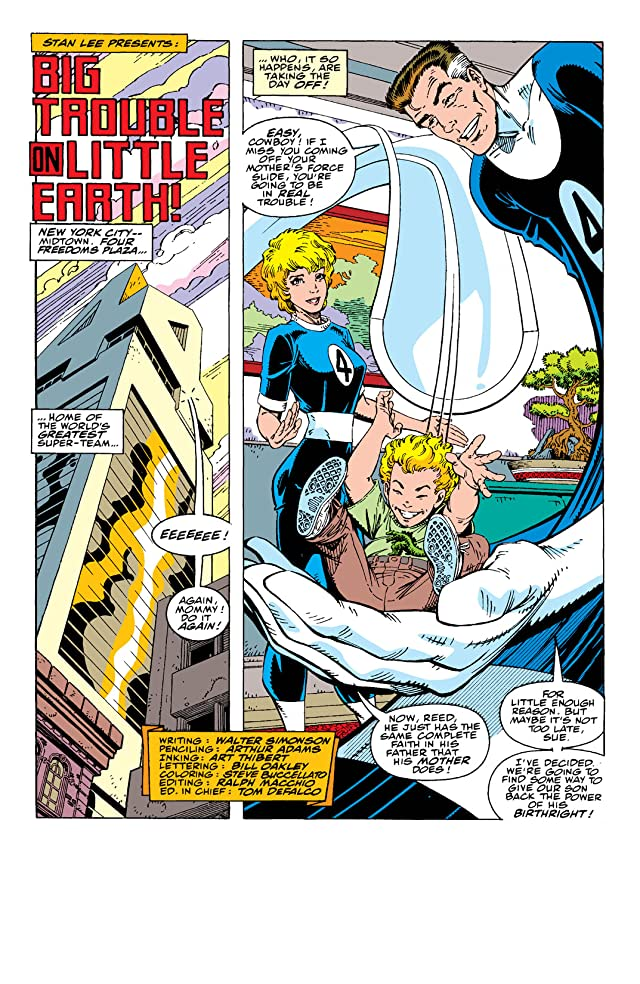 click for super-sized previews of Fantastic Four (1961-1998) #347