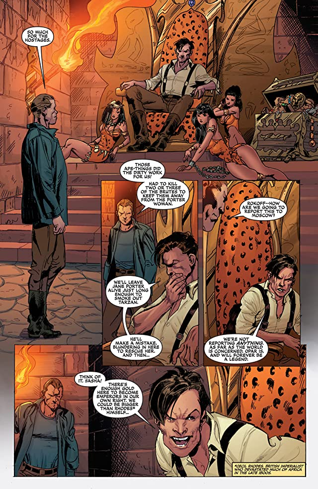 click for super-sized previews of Lord of the Jungle #14